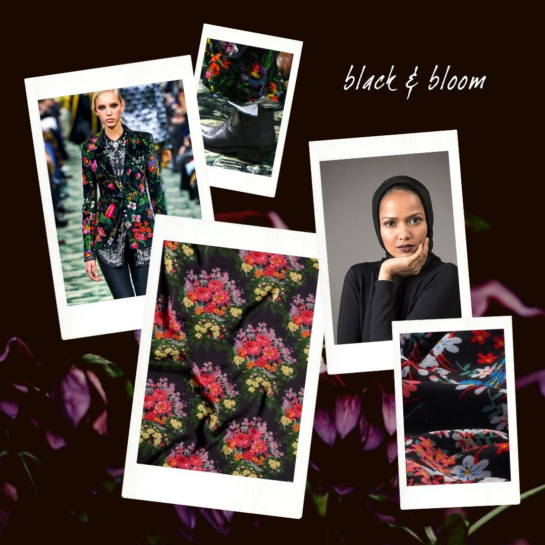 The October Edit: Dark Florals