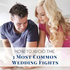 How To Avoid the 3 Most Common Wedding Fights
