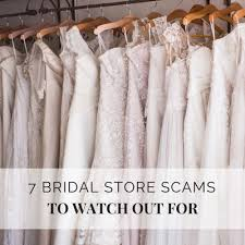 7 Biggest Bridal Store Scams to Watch Out For