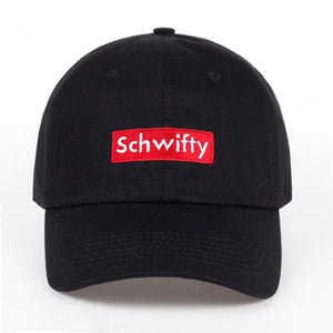 100% Cotton Get Schwifty Hat Rick and Morty Dad Hat Schwifty Brand Unisex Embroidery No Structure - MBMCITY