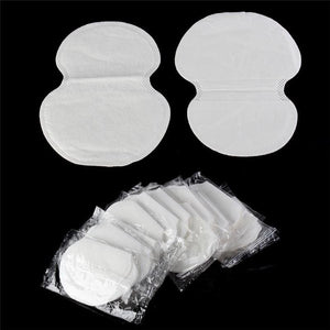 100Pcs (50pairs) Disposable Underarm pad Armpit Sweat Pads Guard Sheet Liner Dress Clothing Shield