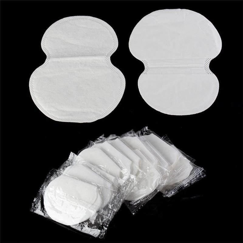 100Pcs (50pairs) Disposable Underarm pad Armpit Sweat Pads Guard Sheet Liner Dress Clothing Shield - MBMCITY