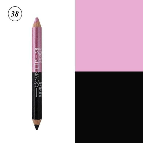 12 Colors Highlighter Glitter Eyeshadow Eyeliner Pen makeup durable Waterproof  sweatproof - MBMCITY