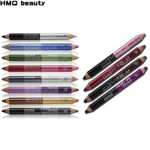 12 Colors Highlighter Glitter Eyeshadow Eyeliner Pen Makeup Durable Waterproof Sweatproof