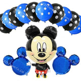 13Pcs/lots Minnie Mouse Theme Party Decoration Combination Suit Balloons Happy Birthday Party Dot P