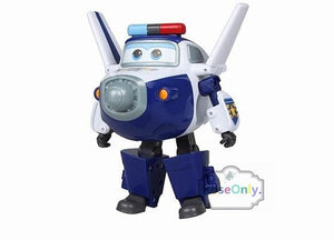15CM Super Wings Big size Planes Transformation robot Action Figures Toys super wing Mini Jett toy