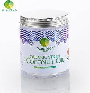 180ML VIRGIN Coconut Oil Extract Cold Pressed Natural Healthy Oil for Aromatherapy Hair&Skin Care