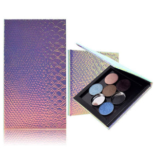 1pc 3.9in*3.9in*0.43in Empty Magnetic Palette Refill Eyeshadow Blush DIY Easy Carry Beauty Pigment.