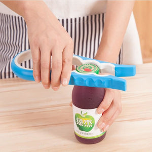 1Pc Household Kitchen Multifunction Opener Non-Slip Twist Cap Bottle Cap Launcher Opener For Cans