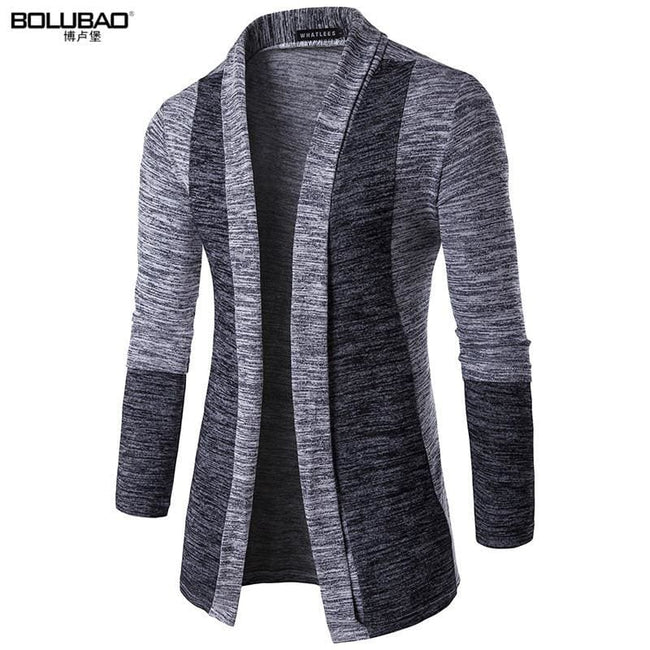 2017 Hot Sale Brand-Clothing Spring Cardigan Male Fashion Quality Cotton Sweater Men Casual Gray - MBMCITY