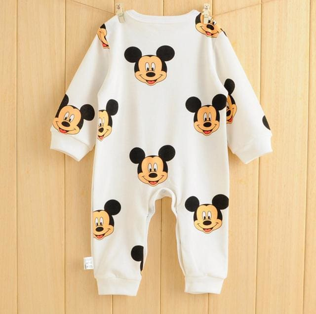 2017 kids jumpsuit product  spring autumn baby clothing cartoon baby girl rompers 100% cotton BABY