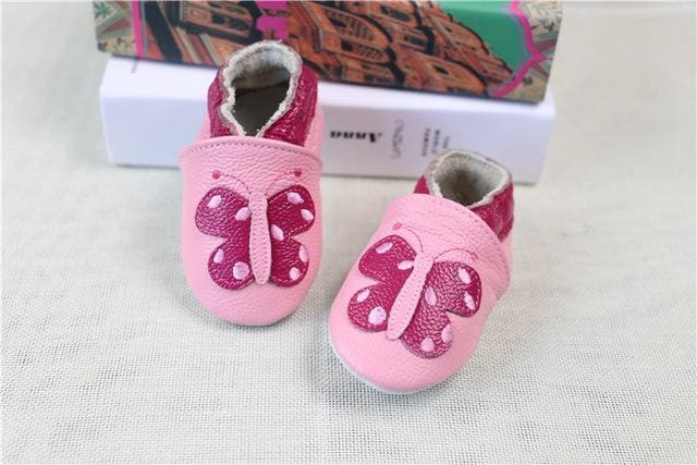 2017 NEW Genuine Cow Leather Baby Moccasins Soft Soled Toddlers Infant Baby Shoes Boys Girls Newborn - MBMCITY
