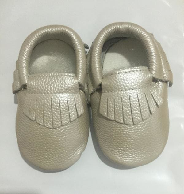 2017 NEW Genuine Cow Leather Baby Moccasins Soft Soled Toddlers Infant Baby Shoes Boys Girls Newborn