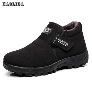2017 New Men Boots Winter With Velvet Warm Snow Boots Men Shoes Footwear Fashion Male Rubber Winter - MBMCITY