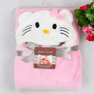 2017 New Soft Hooded Animal Baby Bathrobe High Quality 16 Pattern Cartoon Baby Towel Character Kids - MBMCITY
