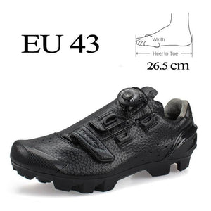 2017 Santic Cycling Shoes Men MTB Bike Shoes Athletics PU Self-Locking Mountain Bicycle Shoes