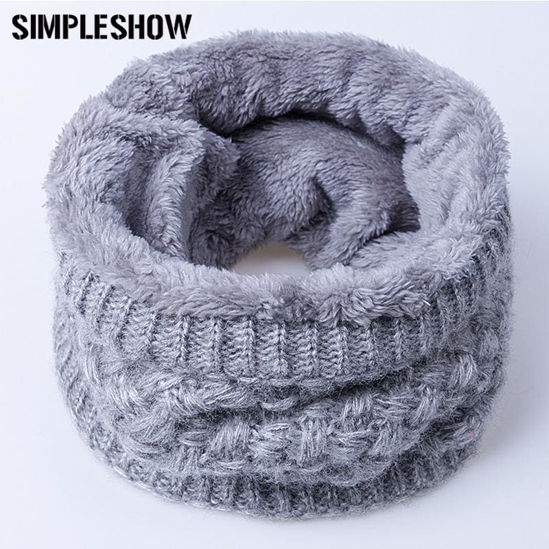 2017 Winter Scarf Child For Women Children Boys Scarf Thickened Wool Collar Scarves Girls Neck Scarf - MBMCITY