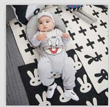 2018 Baby Autumn Spring Cotton Cartoon Penguin Style Boy Clothes Newborn Baby Girl Clothing Infant Huilm / 3M