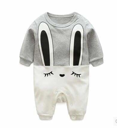 2018 baby autumn spring cotton cartoon Penguin style boy clothes newborn baby girl clothing infant huituzi / 3M