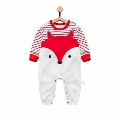 2018 Baby Autumn Spring Cotton Cartoon Penguin Style Boy Clothes Newborn Baby Girl Clothing Infant Honghuli / 3M