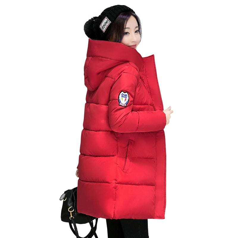 2018 Hot Sale Women Winter Hooded Jacket Female Outwear Cotton Plus Size 3Xl Warm Coat Thicken