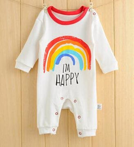 2018 Kids Jumpsuit Product Spring Autumn Baby Clothing Cartoon Baby Girl Rompers 100% Cotton Baby Huituzi / 3M