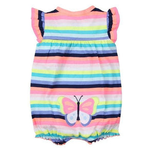 2018 NEW stlye Summer baby boys rompers kids Short sleeve clothing Baby girls cotton Jumpsuit ctd / 6M