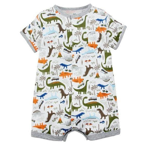 2018 NEW stlye Summer baby boys rompers kids Short sleeve clothing Baby girls cotton Jumpsuit huikl / 9M