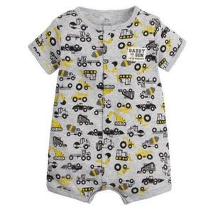 2018 NEW stlye Summer baby boys rompers kids Short sleeve clothing Baby girls cotton Jumpsuit