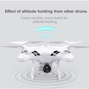 2018 Rc Drone Wifi Fpv Hd Adjustable Camera 0.3Mp/5Mp 480P/1080P Altitude Hold One Key Return