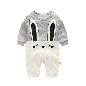 2018 spring - Autumn baby boy clothing Cotton Long Sleeved baby boy clothes ,cartoon Beard Gentleman - MBMCITY
