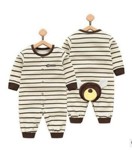 2018 Spring Autumn Long Sleeved Cotton Romper Baby Clothes Childrens Clothing Cartoon Penguin Baby Chang Pp Xiong / 3M