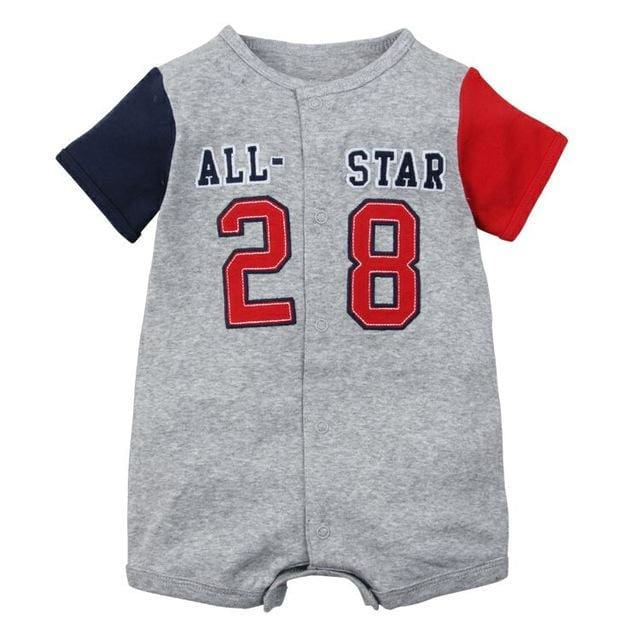 2018 Summer Short Sleeved Jumpsuit For Newborn Romper Character Baby Boy Clothes And Baby Girl 282 / 6M