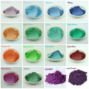 20G Healthy Natural Mineral Mica Powder Diy For Soap Dye Soap Colorant Makeup Eyeshadow Soap