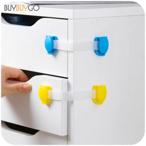 20pcs/lot Plastic Baby Safety Drawer Clothes Tv Shoe Bathroom Bucket Cabinet Locks Child Doors