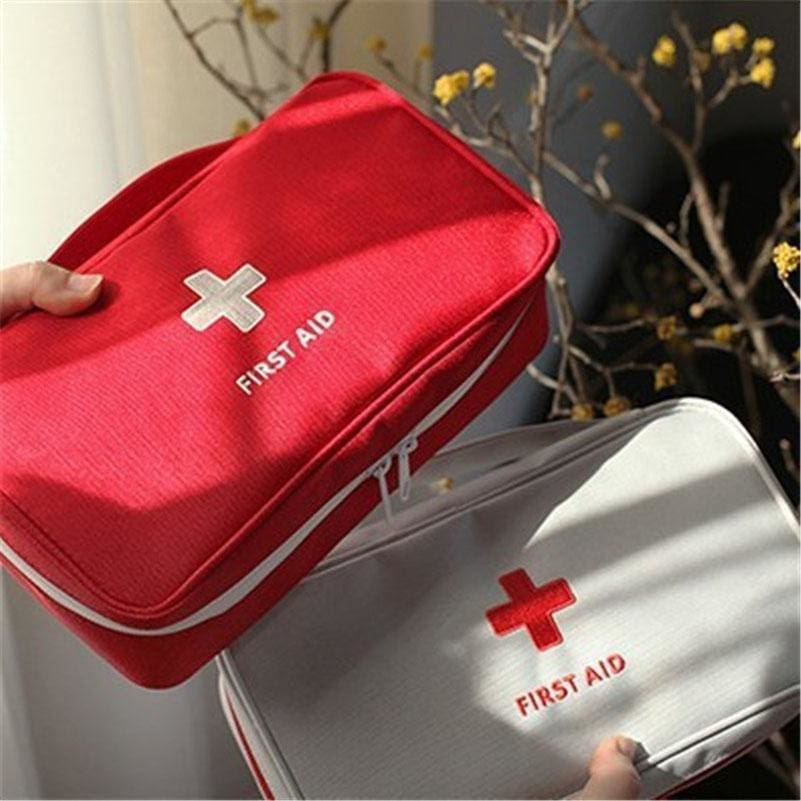 230x130x75mm Outdoor First Aid Emergency Medical Kit Survival bag Wrap Gear Hunt Travel Storage Bag