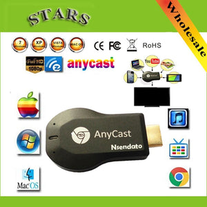 256M Anycast m2 iii ezcast miracast Any Cast Air Play hdmi 1080p tv stick wifi Display Receiver - MBMCITY