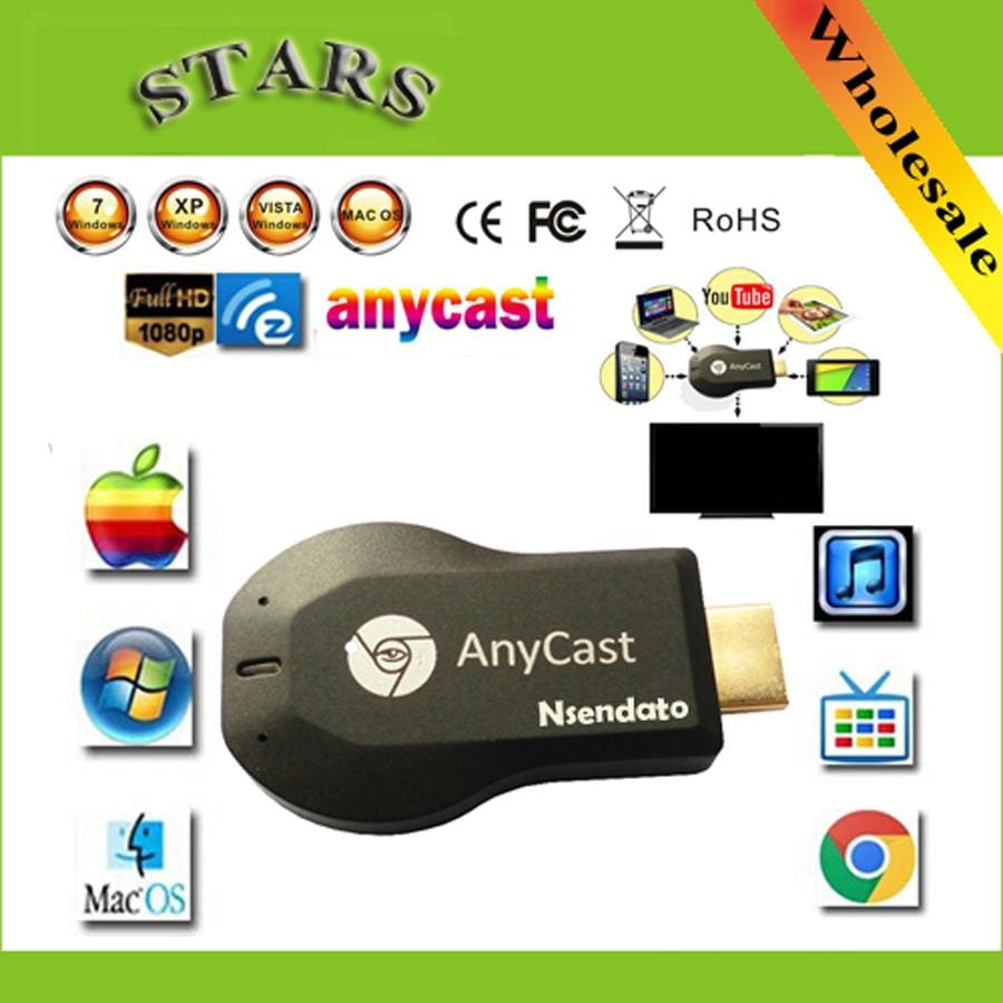 256M Anycast M2 Iii Ezcast Miracast Any Cast Air Play Hdmi 1080P Tv Stick Wifi Display Receiver