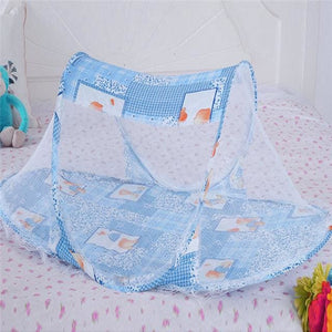3 Colors Portable Baby Bed Crib Folding Mosquito Net Cushion Mattress Summer Baby Infants Mosquito