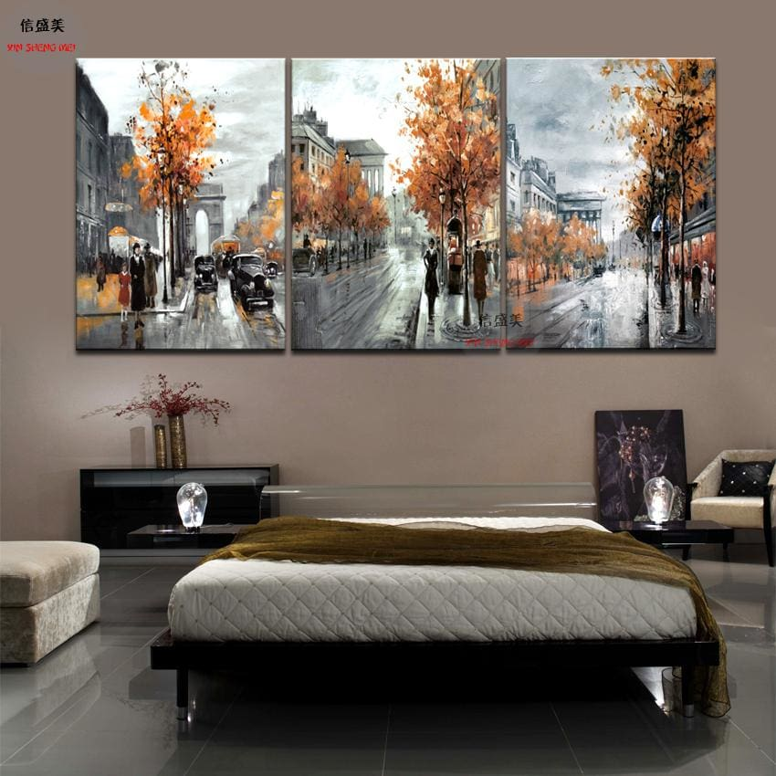 3 Piece Modern Picture Cuadros Decoracion Canvas Oil Painting Art Pictures Wall Paintings Pintura