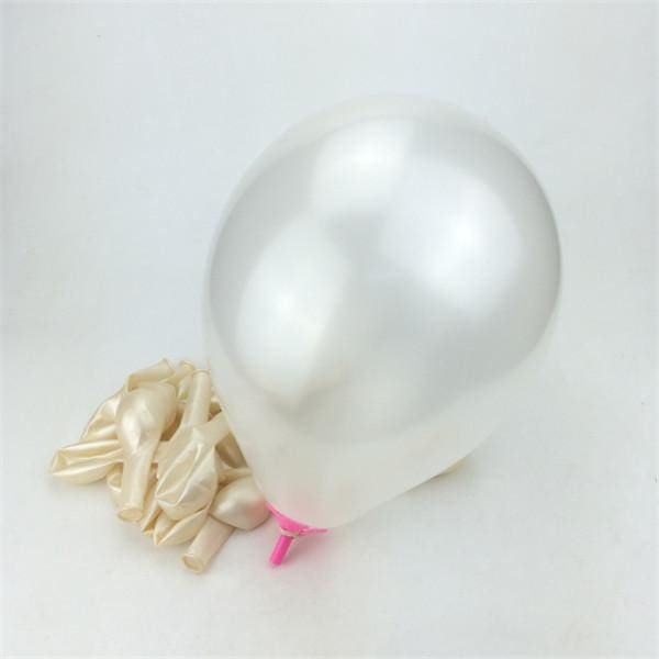 50Pcs Pink 10inch 21 colors Pearl Latex Helium Balloons Inflatable Wedding Balloons Children