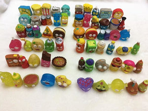 50Pcs/lot Popular Cartoon Anime Action Figures Toys HOT Garbage The Grossery Gang Model Toy Dolls
