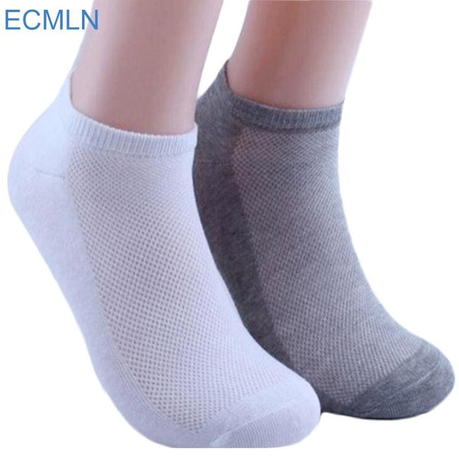 5Pairs Womens Socks Ankle Socks Summer Thin Boat Socks Female Solid Casual 3d Ladies Art Hot Sox - MBMCITY