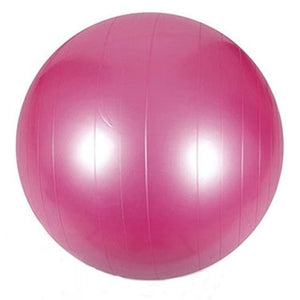 85cm PVC Unisex Yoga Balls For Fitness 4 colors Gym balls for Slimming Baby Balancer ball women Pink