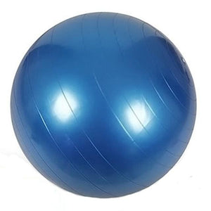85cm PVC Unisex Yoga Balls For Fitness 4 colors Gym balls for Slimming Baby Balancer ball women Blue