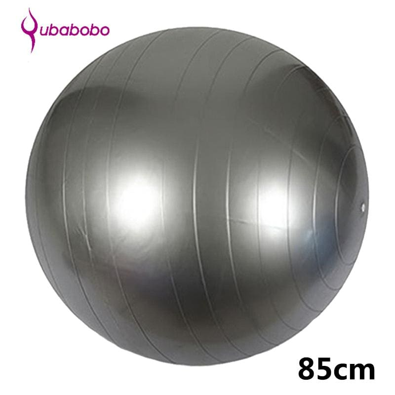 85cm PVC Unisex Yoga Balls For Fitness 4 colors Gym balls for Slimming Baby Balancer ball women