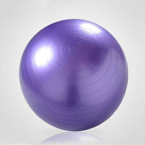 85cm PVC Unisex Yoga Balls For Fitness 4 colors Gym balls for Slimming Baby Balancer ball women Purple