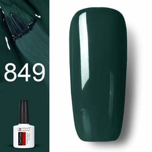 #86102 GDCOCO 2019 New Arrival Primer Gel Varnish Soak Off UV LED Gel Nail Polish Base Coat No Wipe Top Color Gel Polish 849