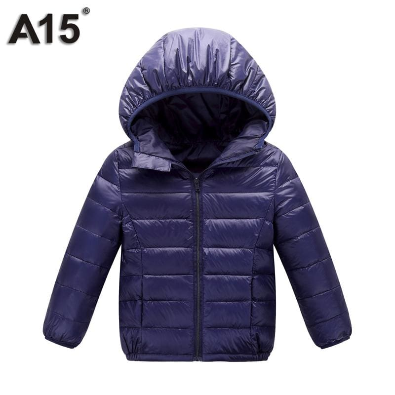A15 Kids Winter Jacket for Girl 2017 Infant Toddler Boy Jacket Teens Clothes Children Warm Outerwear - MBMCITY