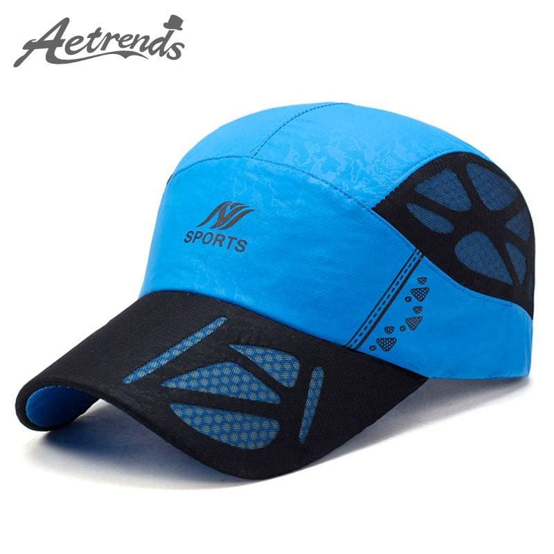 AETRENDS  2017 Summer Baseball Cap Men Breathable Quick-Drying Mesh Hats  Women Sunshade Caps Z-5075 – MBMCITY 1ea3fbb8ba6f